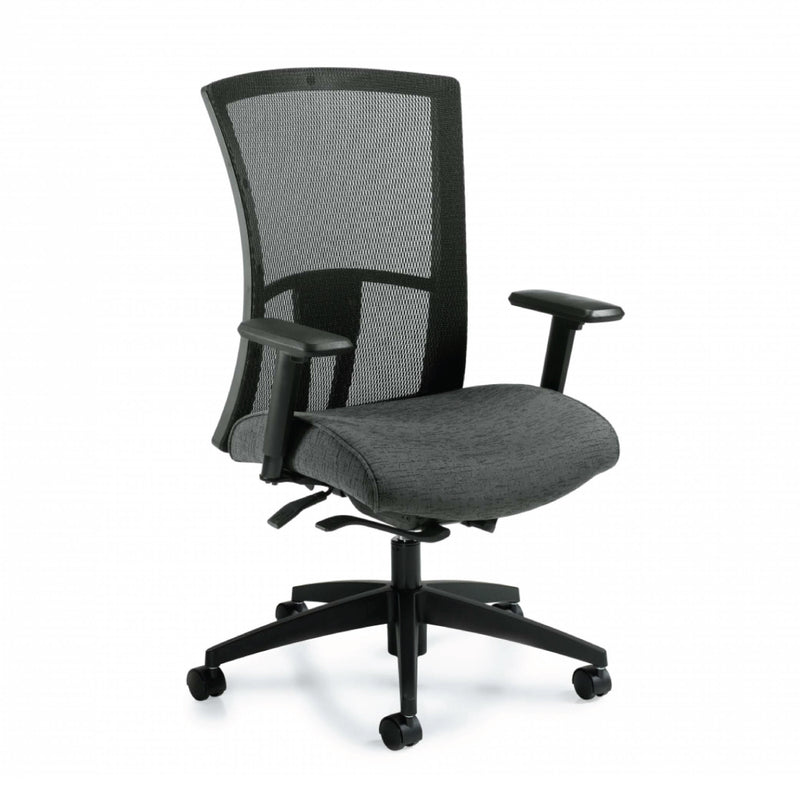 Vion Mesh High Back Weight Sensing Synchro-Tilter Chair - Kainosbuy.com