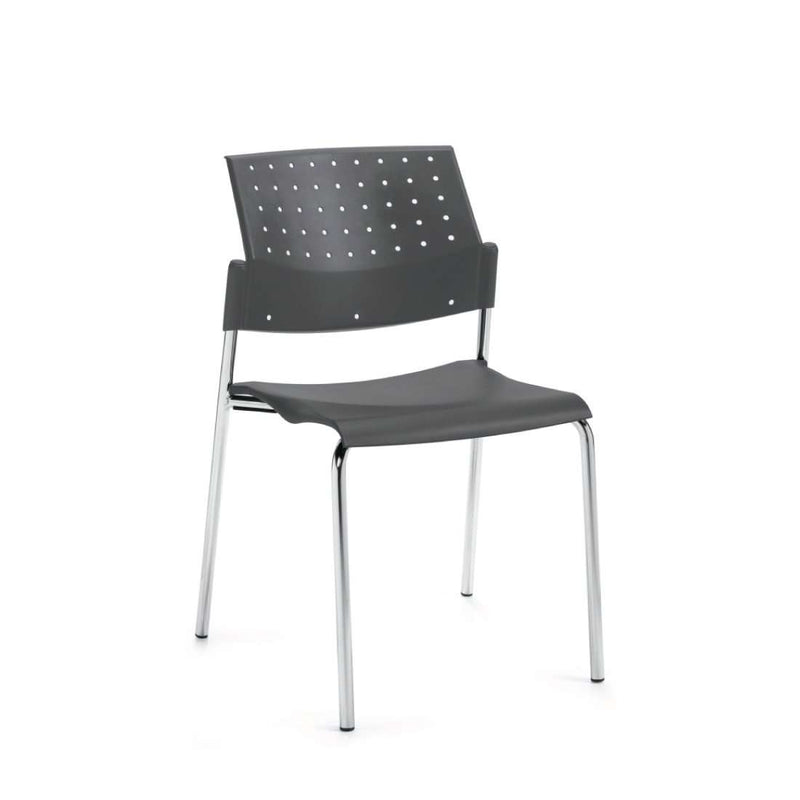 Sonic Stacking Armless Chair - Kainosbuy.com