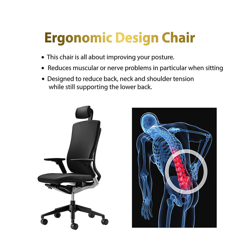 Office Chair Back Protector Quality Chair G4711PA - Kainosbuy.com