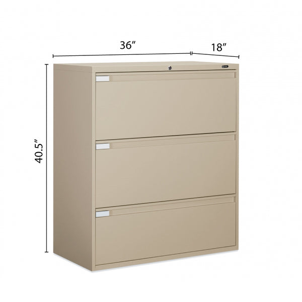 "3 Drawer Lateral File (36""W) - Kainosbuy.com"