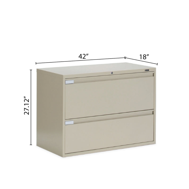 "2 Drawer Lateral File (42""W) - Kainosbuy.com"