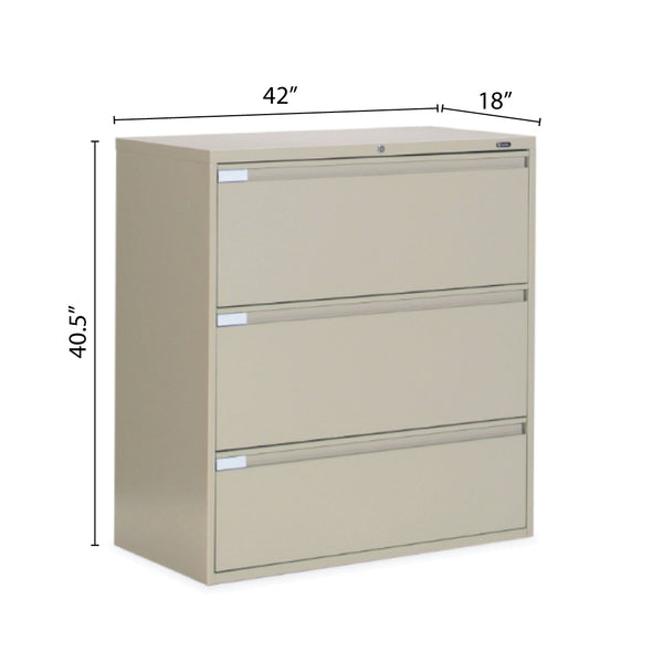 "3 Drawer Lateral File (42""W) - Kainosbuy.com"