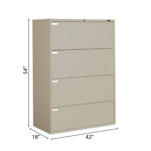 "4 Drawer Lateral File (42""W) - Kainosbuy.com"