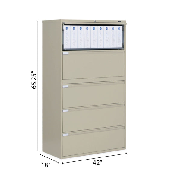 "5 Drawer Lateral File (42""W) - Kainosbuy.com"