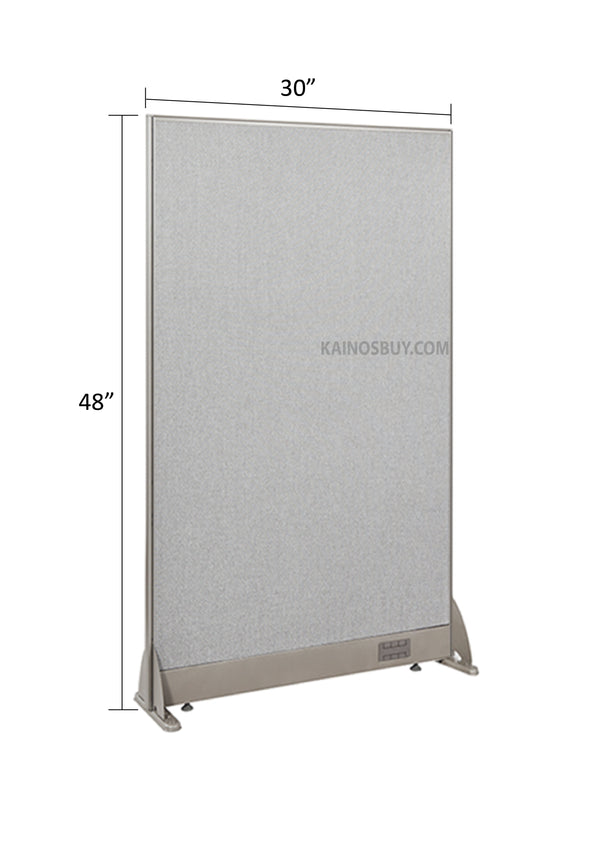 GOF Freestanding Office Partition<BR>30W x 48H - Kainosbuy.com
