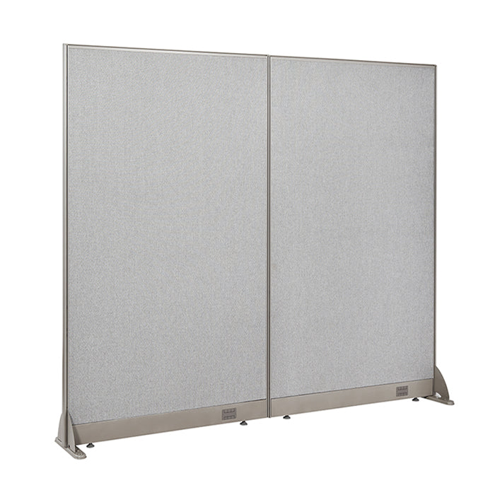 GOF Freestanding Office Partition<BR>72W x 72H - Kainosbuy.com