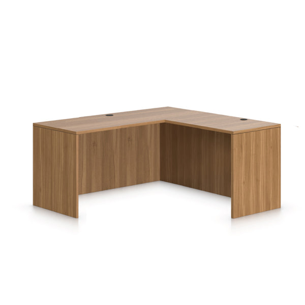 L66A - 5.5' x 4.5' L-Shape Workstation(Credenza Shell) - Kainosbuy.com