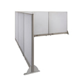 GOF Office L-Shaped Partition 102d x 120w x 48H - Kainosbuy.com
