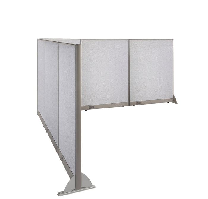 GOF Office L-Shaped Partition 102d x 132w x 60H - Kainosbuy.com