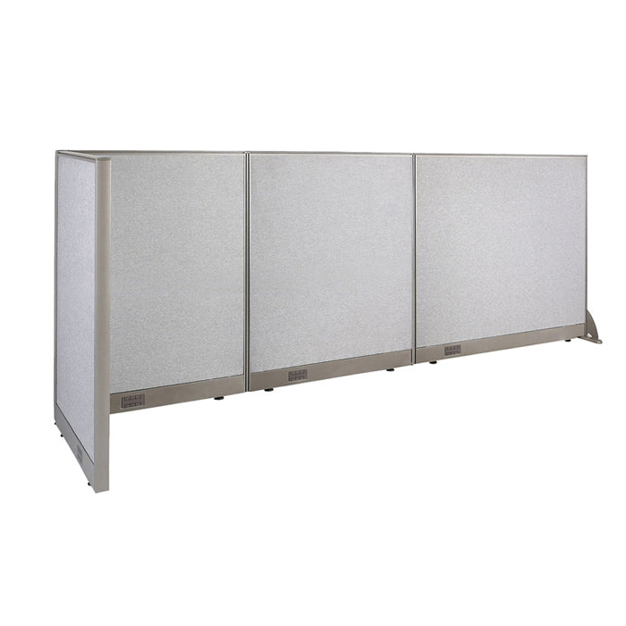 GOF Office L-Shaped Partition 30D x 114w x 48H - Kainosbuy.com