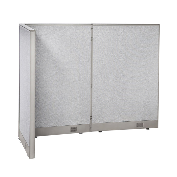 GOF Office L-Shaped Partition 30D x 60w x 48H - Kainosbuy.com