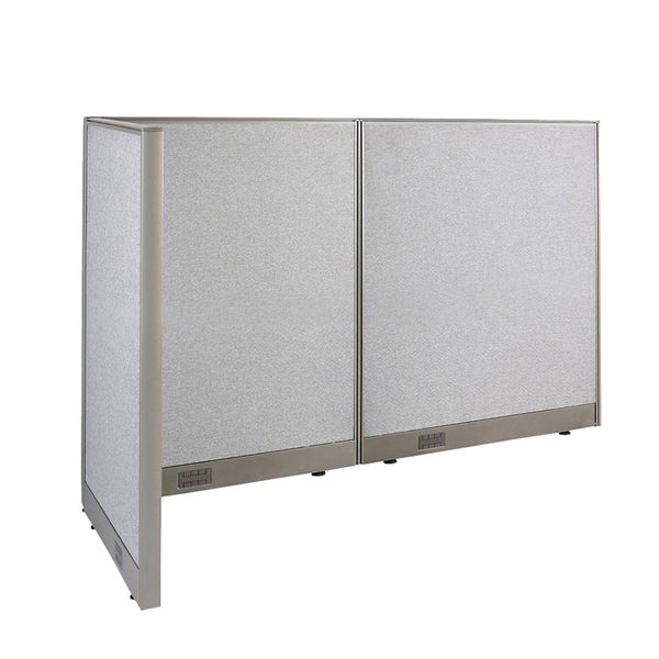 GOF Office L-Shaped Partition 30D x 66w x 48H - Kainosbuy.com