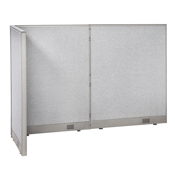 GOF Office L-Shaped Partition 30D x 72w x 48H - Kainosbuy.com