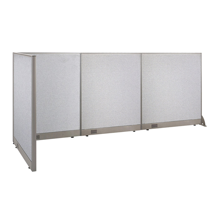 GOF Office L-Shaped Partition 36d x 132w x 48H - Kainosbuy.com