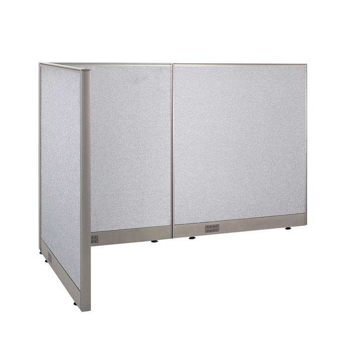 GOF Office L-Shaped Partition 36d x 66w x 48H - Kainosbuy.com