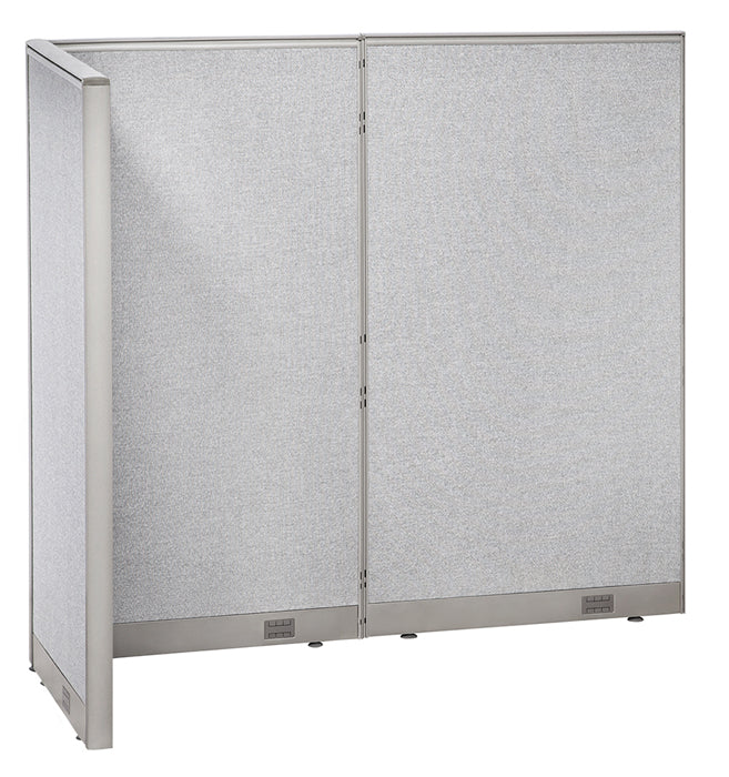 GOF Office L-Shaped Partition 36d x 72w x 72H - Kainosbuy.com