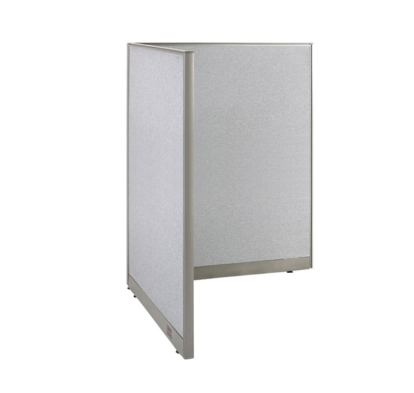 GOF Office L-Shaped Partition 48d x 48w x 72H - Kainosbuy.com