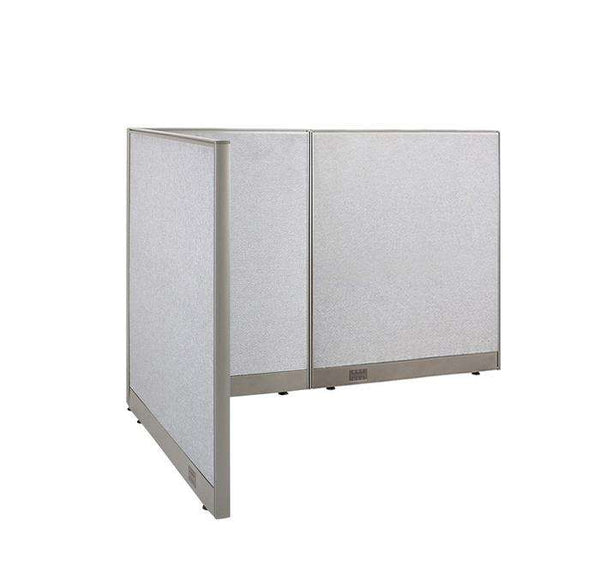 GOF Office L-Shaped Partition 48d x 66w x 48H - Kainosbuy.com