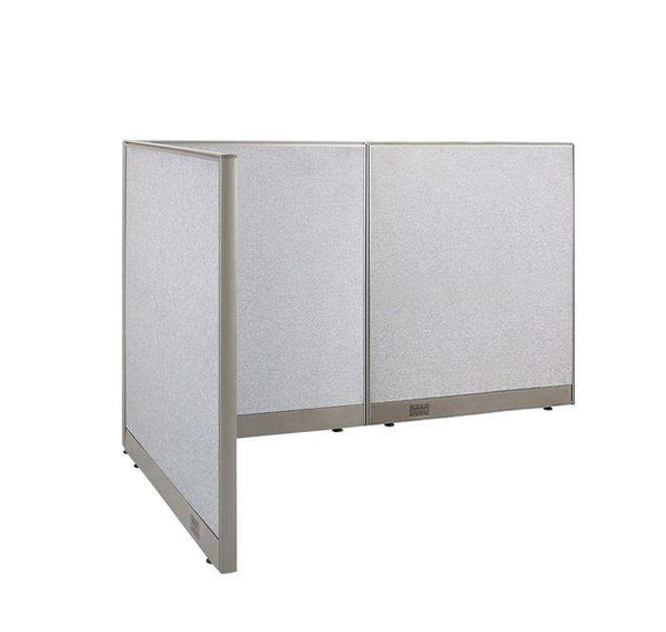 GOF Office L-Shaped Partition 48d x 72w x 48H - Kainosbuy.com