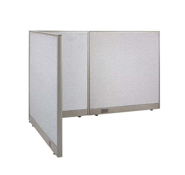 GOF Office L-Shaped Partition 48d x 78w x 48H - Kainosbuy.com