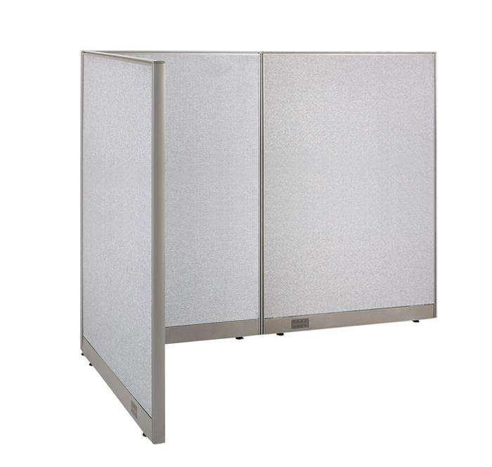 GOF Office L-Shaped Partition 48d x 84w x 72H - Kainosbuy.com