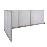 GOF Office L-Shaped Partition 60d x 114w x 48H - Kainosbuy.com