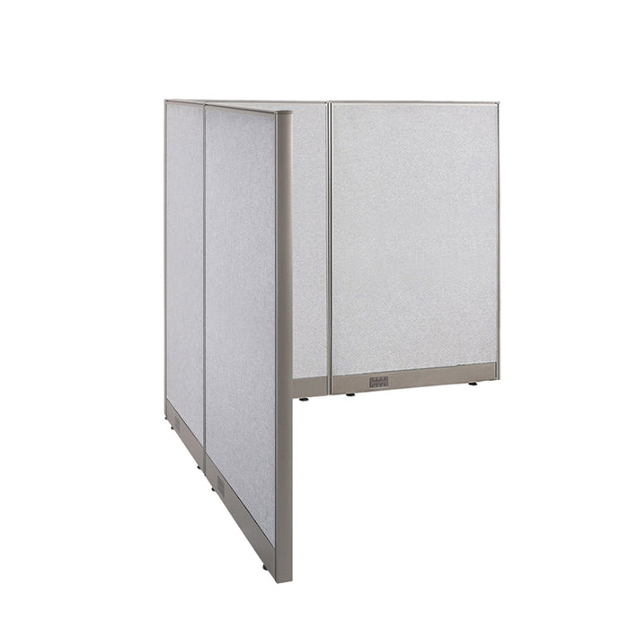 GOF Office L-Shaped Partition 66d x 66w x 60H - Kainosbuy.com