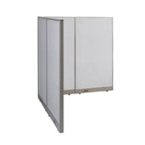 GOF Office L-Shaped Partition 66d x 66w x 72H - Kainosbuy.com