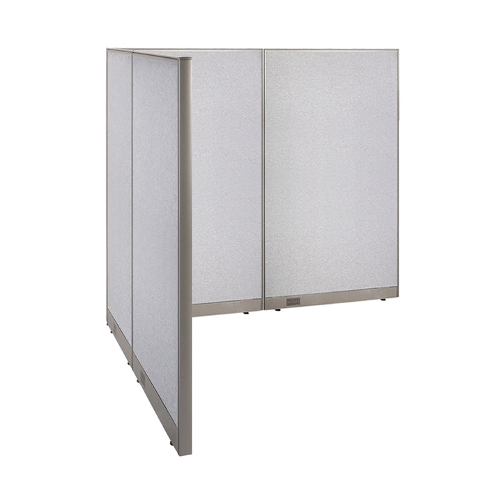 GOF Office L-Shaped Partition 66d x 96w x 72H - Kainosbuy.com