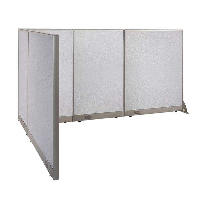 GOF Office L-Shaped Partition 78d x 120w x 60H - Kainosbuy.com