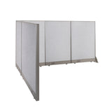 GOF Office L-Shaped Partition 78d x 90w x 48H - Kainosbuy.com