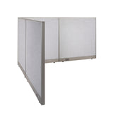 GOF Office L-Shaped Partition 84d x 96w x 48H - Kainosbuy.com