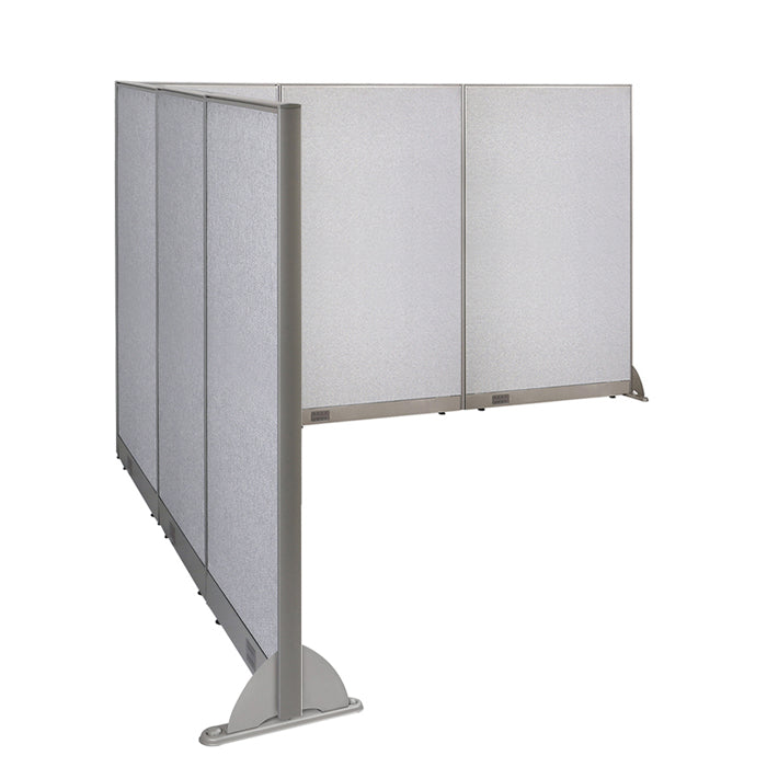 GOF Office L-Shaped Partition 90d x 126w x 72H - Kainosbuy.com