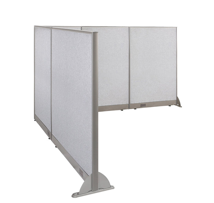 GOF Office L-Shaped Partition 96d x 102w x 60H - Kainosbuy.com