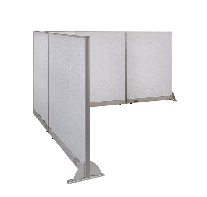 GOF Office L-Shaped Partition 96d x 126w x 60H - Kainosbuy.com