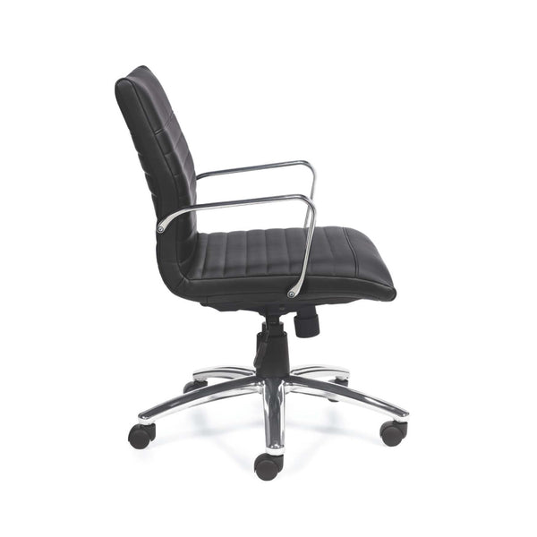 G11734B Mid Back Luxhide Executive Chair - Kainosbuy.com