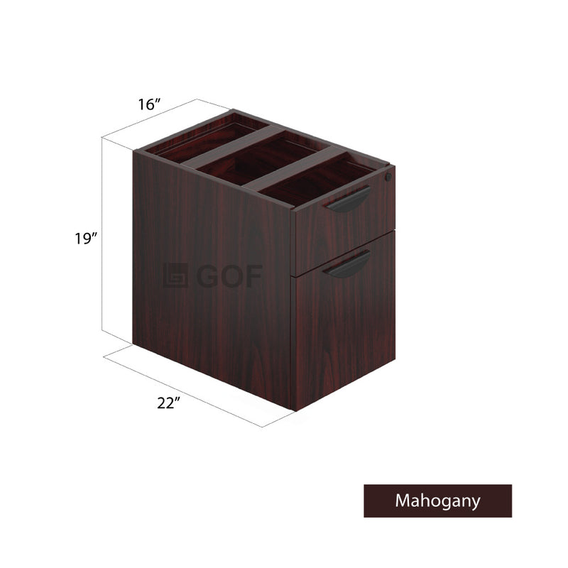 GOF 4 Person Separate Workstation Cubicle (5'D x 26'W x 4'H -W) / Office Partition, Room Divider - Kainosbuy.com