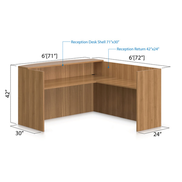 6' x 6' Reception Desk - Kainosbuy.com