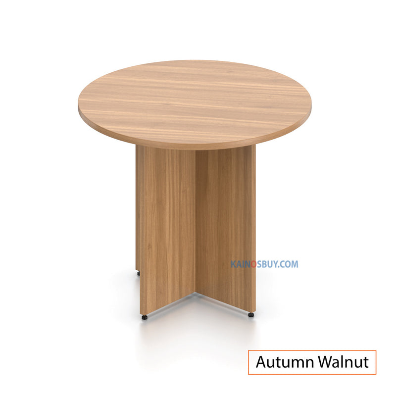 "36"" Round Table/Cross Base with 2 Chairs (G11343B) - Kainosbuy.com"