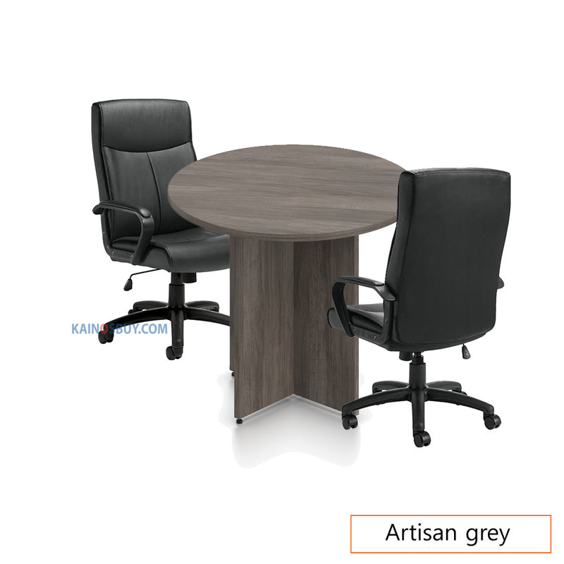 "36"" Round Table/Cross Base with 2 Chairs (G11782B) - Kainosbuy.com"