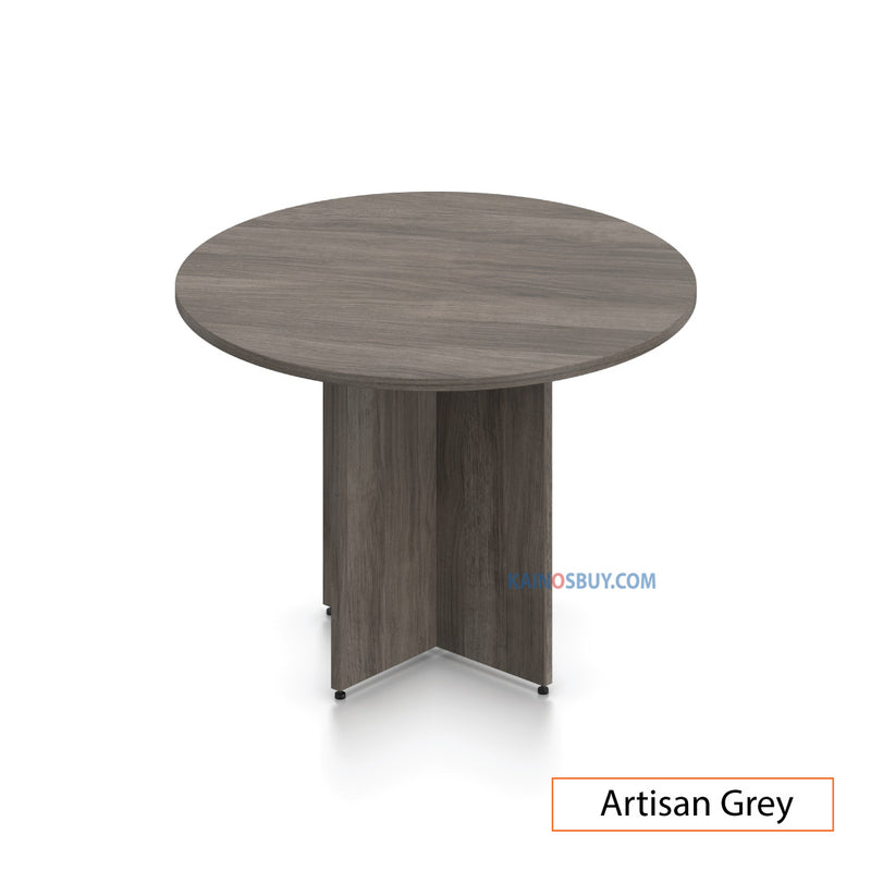 "42"" Round Table/Cross Base  with 3 Chairs (G11782B) - Kainosbuy.com"