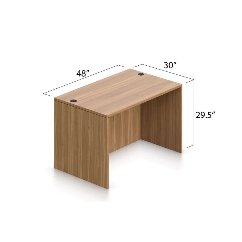 "Rectangular Desk Shell 48"" x 30"" - Kainosbuy.com"
