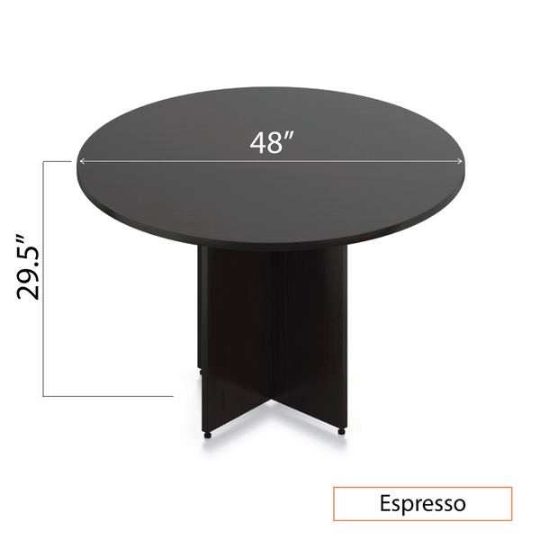 "48"" Round Table/Cross Base - Kainosbuy.com"