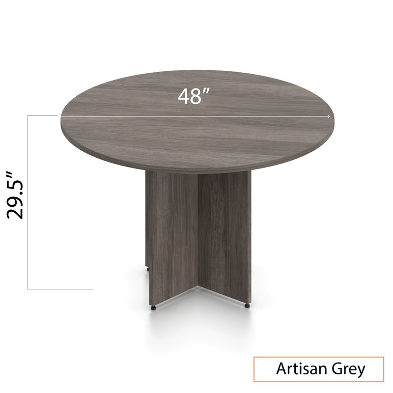 "48"" Round Table/Cross Base with 4 Chairs (G11782B) - Kainosbuy.com"