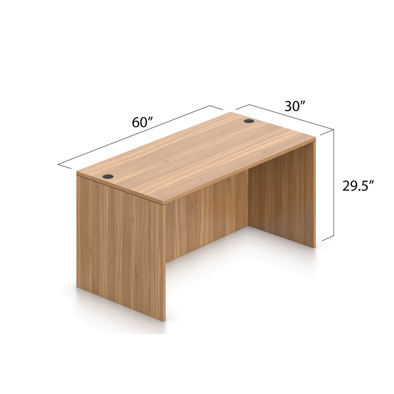 L60B - 5' x 5' L-Shape Workstation(Rectangular Desk) - Kainosbuy.com