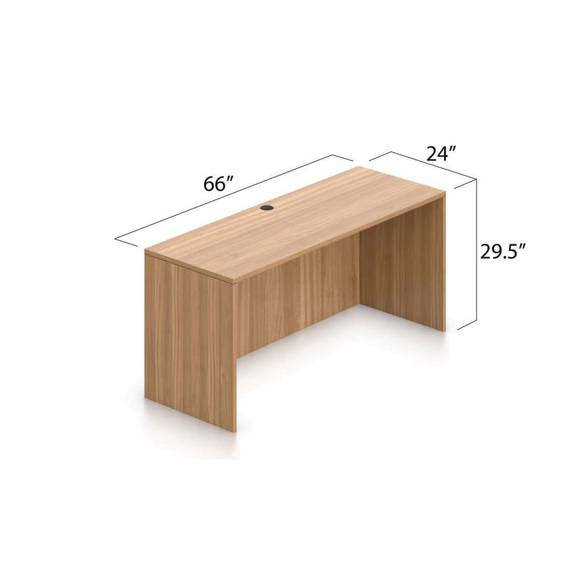 U66A - 5.5' x 8' U-Shape Workstation(Rectangular Desk with B/B/F and F/F Pedestal) - Kainosbuy.com