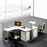 GOF Office T-Shaped Partition 36D x 240W x 48H - Kainosbuy.com