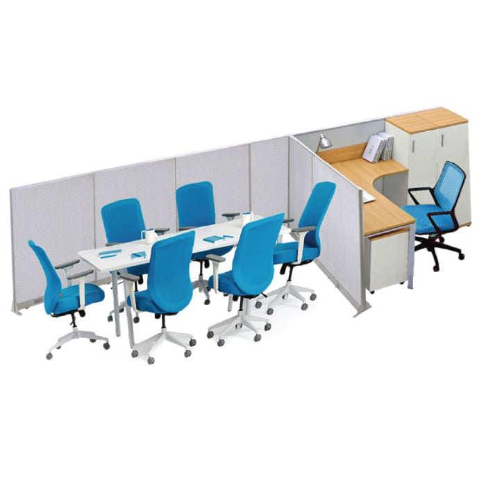 GOF Office T-Shaped Partition 60D x 204W x 72H - Kainosbuy.com
