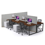 GOF Office T-Shaped Partition 60D x 192W x 48H - Kainosbuy.com