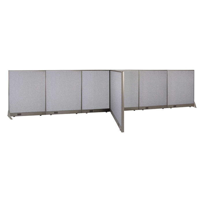 GOF Office T-Shaped Partition 48D x 204W x 48H - Kainosbuy.com